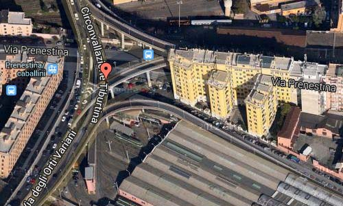 Via Prenestina Map2