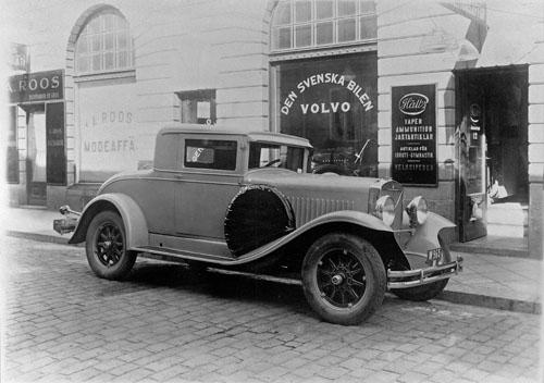 1929 - Volvo PV650 Coupé