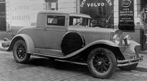 Volvo PV650 Coupé