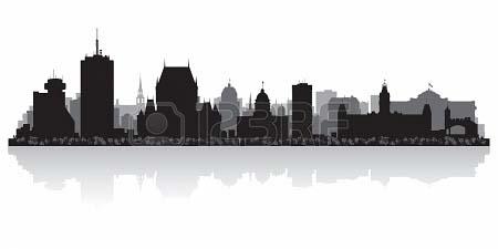 quebec canada city skyline