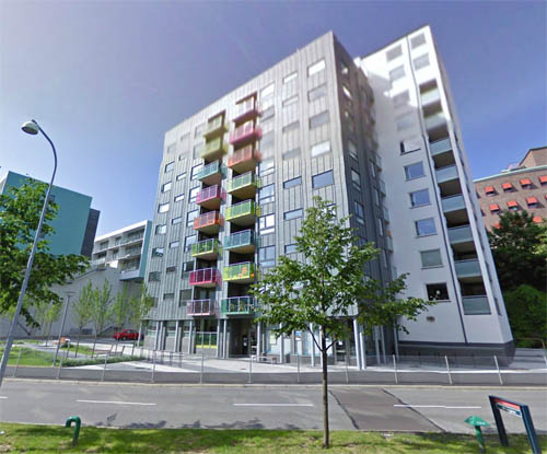 2013 - Östra Eriksbergsgatan in Göteborg (Google Streetview)