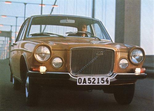 1970 - Volvo 164 at Älvsborgsbron in Göteborg