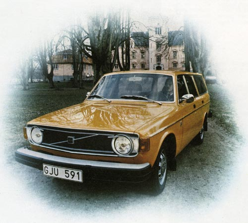 1974 - Volvo 145 DL at Gåsevadholm Slott