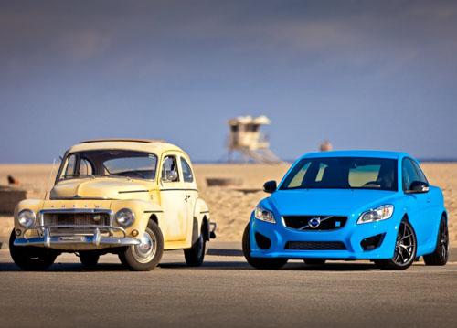 2011 - Volvo C30 Polestar Concept & Volvo PV544 California