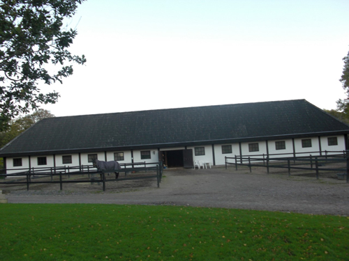 2016 - Horse stables at Gåsevadholms Slott in Kungsbacka
