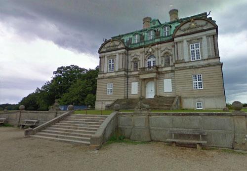 2014 - Eremitageslottet in Kongens Lyngby in Danmark (Google Streetview)