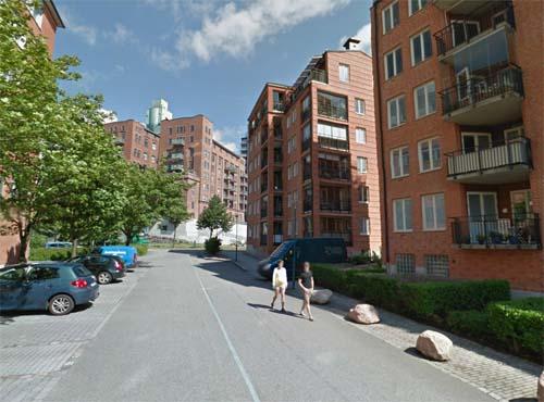 2013 - Kvarnpirsgatan in Göteborg (Google Streetview)