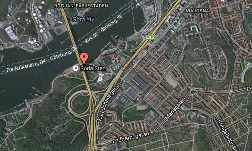 Lundbyleden Göteborg map2