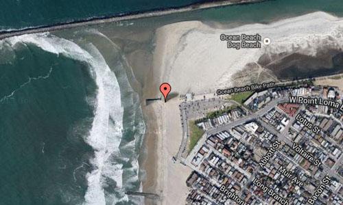 Ocean Beach San Diego Maps2
