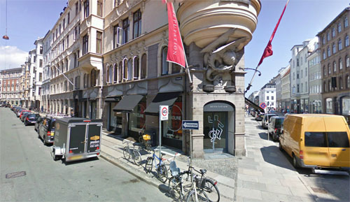 2013 - Palægade in Copenhagen Denmark (Google Streetview 2009)