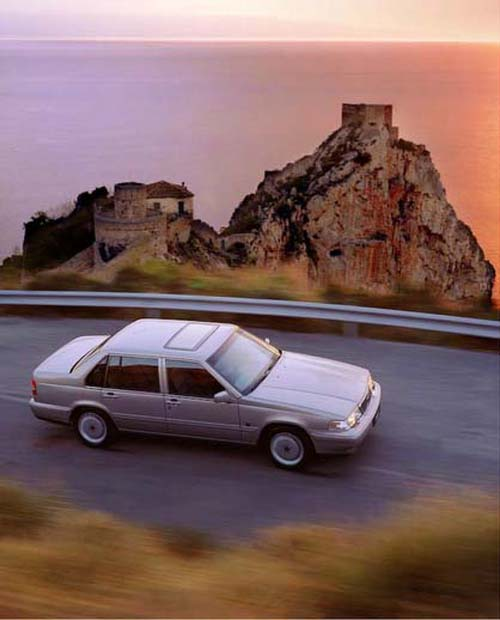 1994 - Volvo 960 (Photography by Henri Ter Hall)