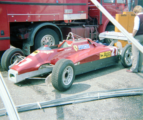 1982 - Ferrari 126 C2 - 27 : Patrick Tambay