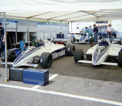 1982 - Brabham BMW BT50 - 2 : Riccardo Patrese - 1 : Nelson Piquet