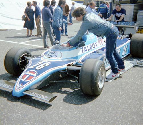 1982 - Ligier Matra JS17