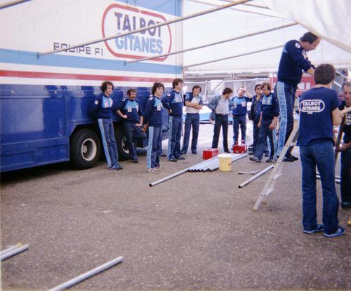 Team Talbot Gitanes - Ligier Matra