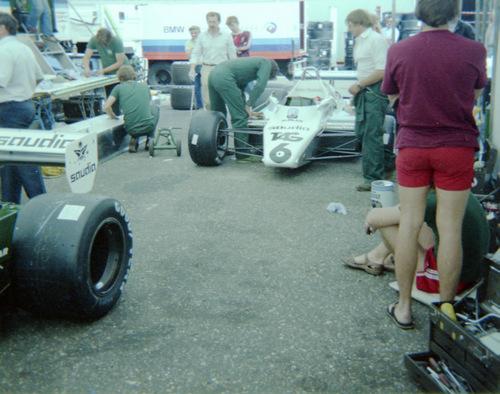 1982 - Williams Ford FW08 - Derek Daly, Keke Rosberg