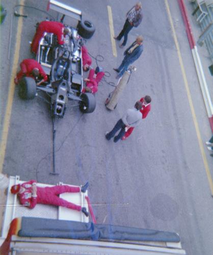 Niki Lauda - Testing at Zandvoort