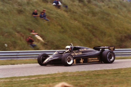 1982 - Lotus Ford-Cosworth 91 - 11: Elio de Angelis