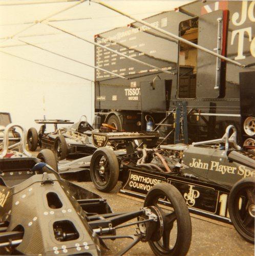1982 Lotus Ford-Cosworth 91