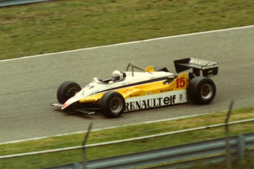 1982 Renault RS30B - 15: Alain Prost