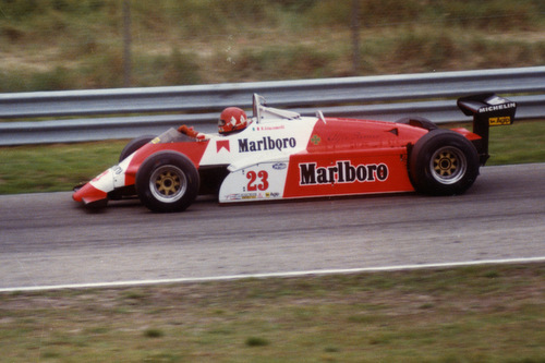 1982 - Alfa-Romeo 182 - 23: Bruno Giacomelli