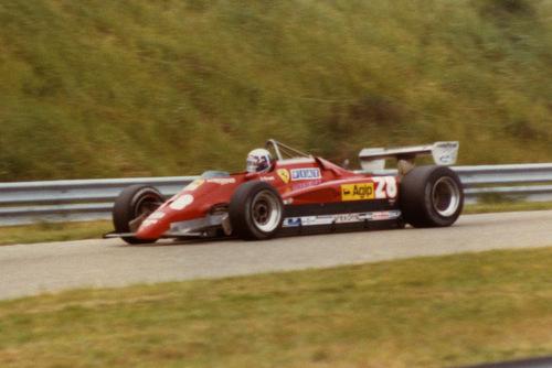 1982 - Ferrari 126 C2 28: Didier Pironi