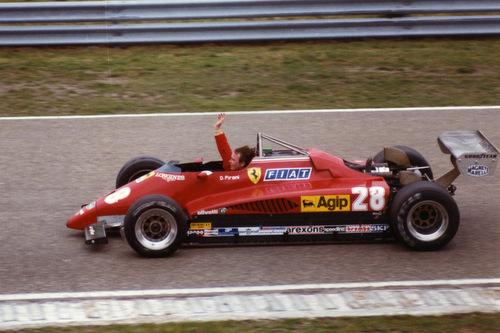 Winner 1982 Dutch Grand Prix F1: Didier Pironi with Ferrari 126 C2