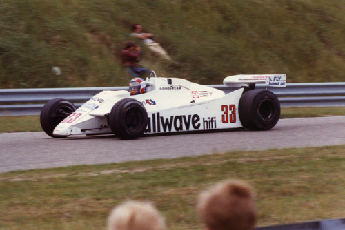 1982 - Theodore TY02 33: Jan Lammers