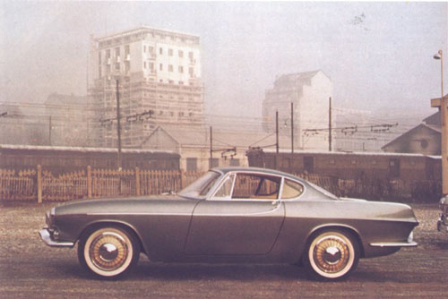 1958 - Volvo P958-X1 - P1800 prototype by Frua Turin (Photography Gunnar Engelau)