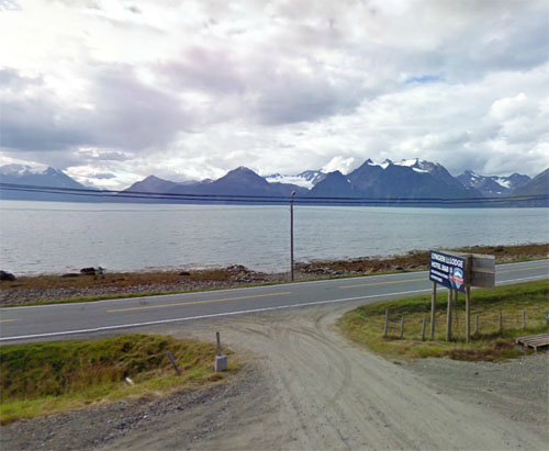 2014  - Lyngen Lodge in Djupvik, Olderdalen, Norway (Google Streetview)