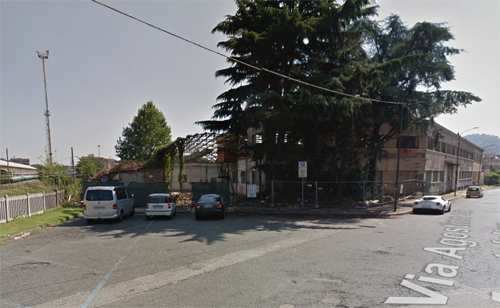 2016 - The former Frua Works at  Via Agostino da Montefeltro in Turin, Italy (Google Streetview)