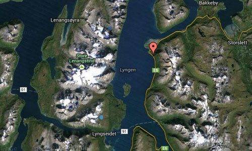 Lyngen Lodge Maps2