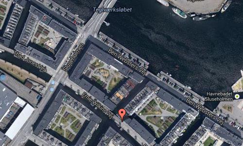 Sluseholmen Map2