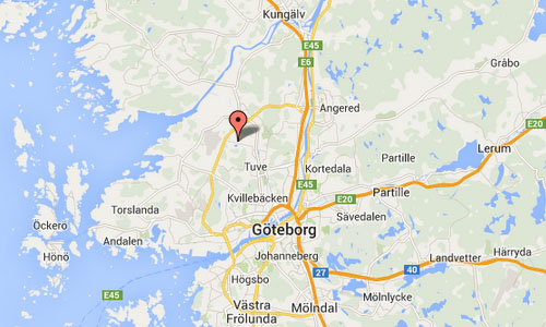 Stora Holm Map