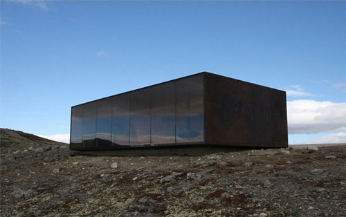 2014 - Tverrfjellhytta or the Norwegian Wild Reindeer Pavilion at Hjerkinn in Dovre - Norway