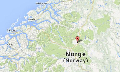 Tverrfjellhytta Norwegian Wild Reindeer Pavilion Maps2