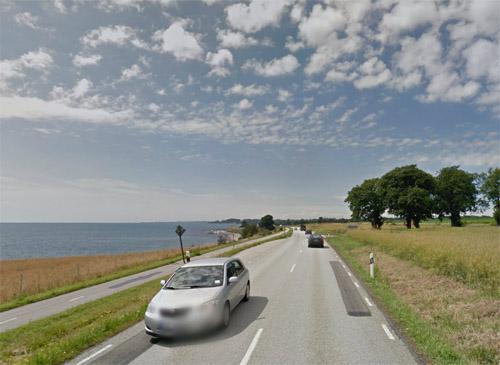 2014 - Västra Kustvägen in Ystad (Google Streetview)