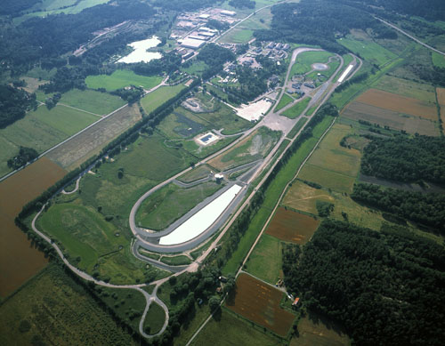 2013 - Stora Holm Trafikövningsplats on Hisingen - Aerial View