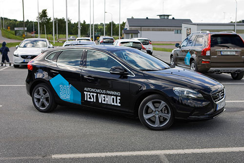 2013 - Voolvo V40 Autonomous Parking Test Vehicle