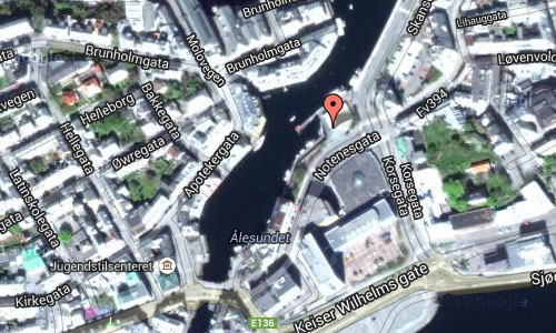Ålesundet in Ålesund Maps 02