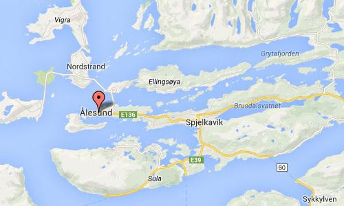 Ålesundet in Ålesund Maps