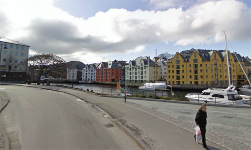 2014 - Ålesundet in Ålesund - Norway (Google Streetview)