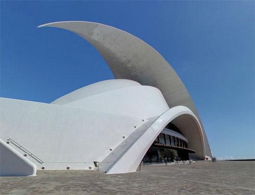 2014 - Auditorio de Tenerife Adán Martín in  Santa Cruz de Tenerife - Spain (Google Streetview)
