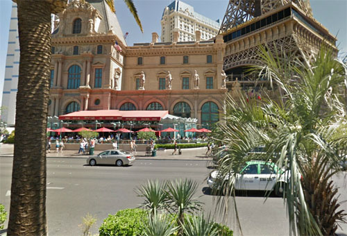 2014 – Las Vegas Strip or S Las Vegas Boulevard near Le Boulevard at Paris in Las Vegas, USA (Google Streetview)