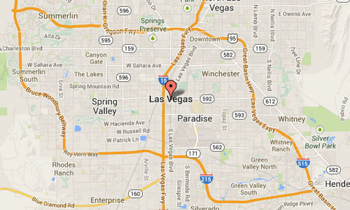 2014 Las Vegas Strip Map01