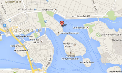 2014 - Nybrokajen in Stockholm Maps 01