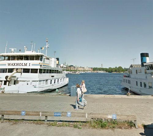 2014 - Nybrokajen in Stockholm (Google Streetview)