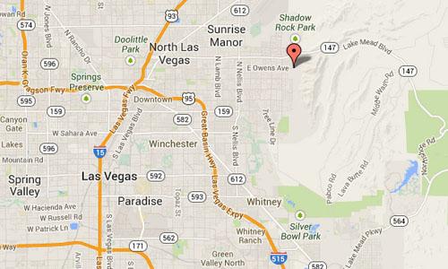 E Owens Avenue Las Vegas maps00