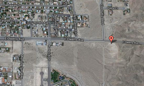 E Owens Avenue Las Vegas maps01
