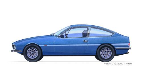 1969 - Volvo Zagato GTZ
